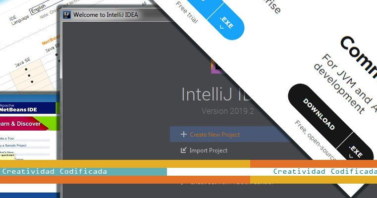 Como descargar e instalar IntelliJ IDEA y NetBeans