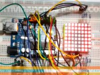 matriz led 8x8 con arduino creativi